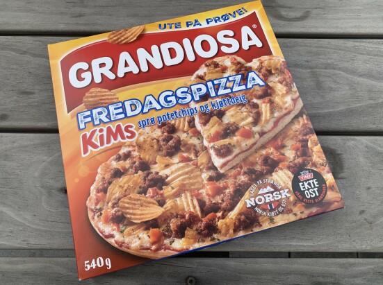 Grandiosa: Fredagspizza