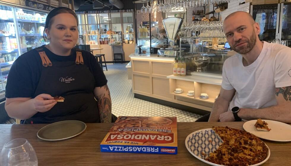 TESTPANELET: Eline Sofie Sunde og Edi Magotti.