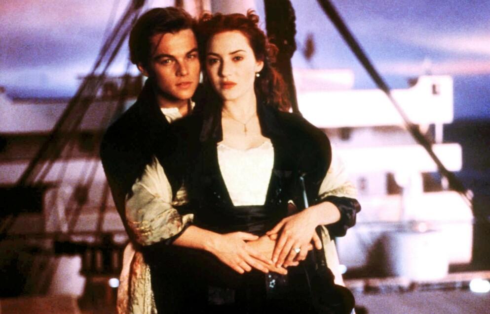 VAR REDD: Den britiske skuespilleren Kate Winslet innrømmer at hun var redd for Hollywood etter suksessen med «Titanic». Her avbildet med Leonardo DiCaprio i filmen fra 1997. Foto: Shutterstock Editorial / NTB