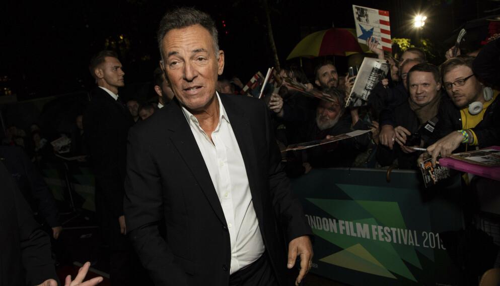 SIKTET: Bruce Springsteens kjøretur i november kan få store konsekvenser. Foto: Vianney Le Caer/Invision/AP/NTB