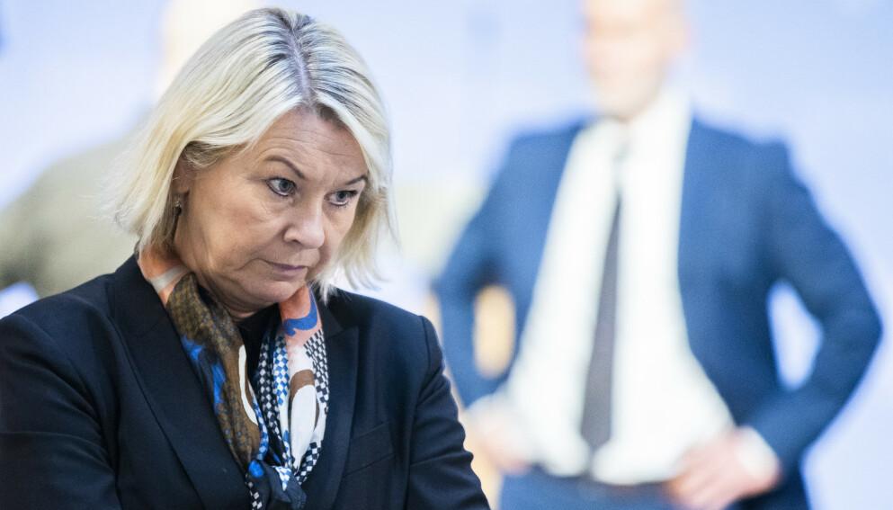 FORSTÅR: Justis- og beredskapsminister Monica Mæland skjønner at mange nå er lei. Foto: Berit Roald / NTB