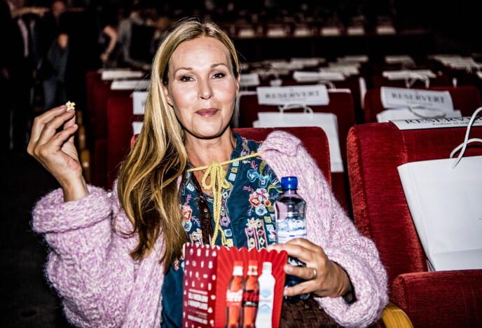 RØPER SØT HISTORIE: Dorthe Skappel, her avbildet under TV 2s høstlansering på Klingenberg kino i Oslo i 2017, kan smykke seg med å ha hatt en rev sovende under sin egen seng mens hun selv sov. Foto: Thomas Rasmus Skaug / Dagbladet