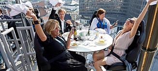Høytflyvende restaurant til Norge