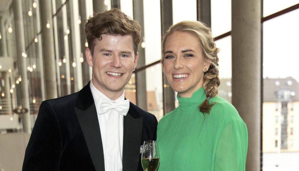 BLE FORELDRE: Nicolay Ramm og Josephine Leine Granlie har fått sitt første barn sammen. Foto: Andreas Fadum / Se og Hør