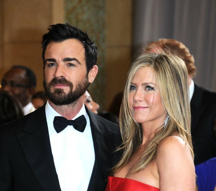BEHOLDT VENNSKAPET: Justin og Jennifer har vist at man kan forbli venner etter en skilsmisse. Her sammen i 2013. Foto: Stewart Cook / REX / NTB