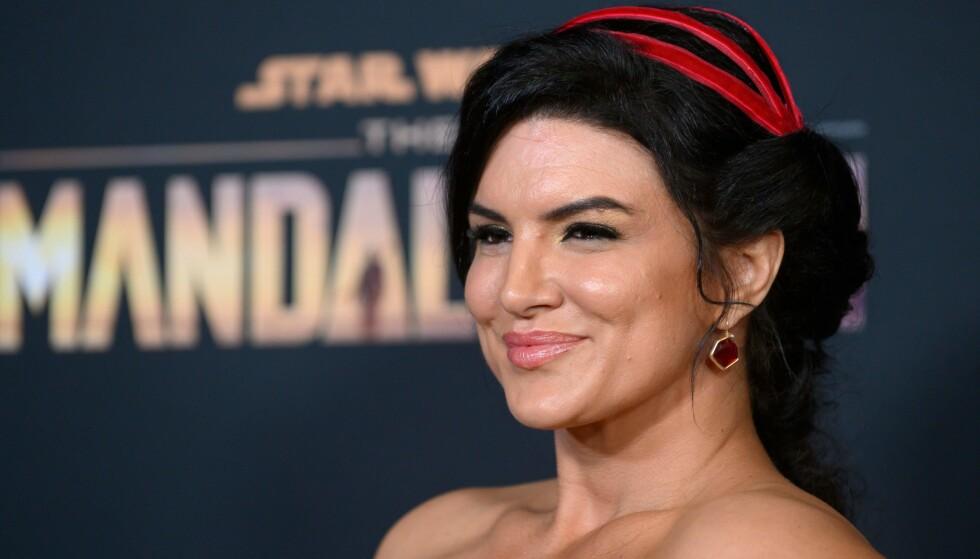 FIKK FYKEN: Gina Carano fikk sparken fra Star Wars-serien «The Mandalorian». Nå innrømmer hun at det var noe hun var forberedt på. Foto: Nick Agro / AFP / NTB