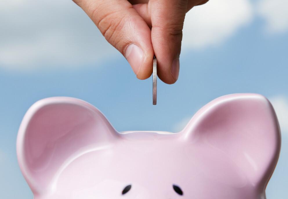 ENDRING: Frp og regjeringspartiene er enige om å innføre pensjon fra første krone. Dette skjer imidlertid først i 2023. Foto: NTB scanpix