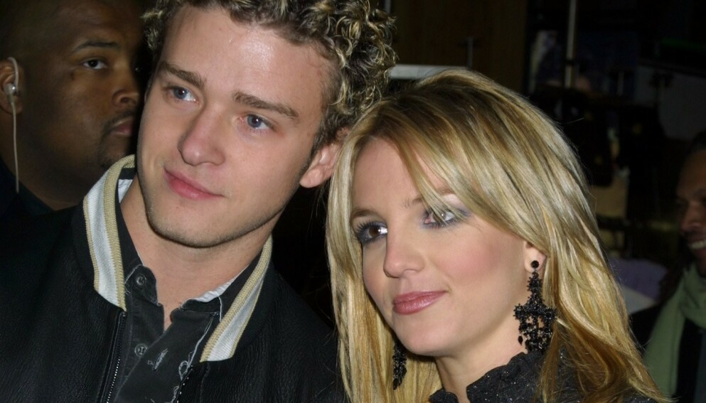 BEKLAGER. Justin Timberlake satte Britney Spears i et dårlig lys etter bruddet. Her fra 2002. Foto: Matt Baron/BEI/NTB