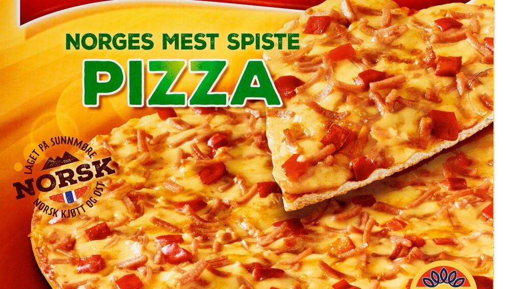 ØKER MEST: Nordmenn spiser mest frossenpizza i hele verden. Og under pandemien har tallene gjort et nytt byks.