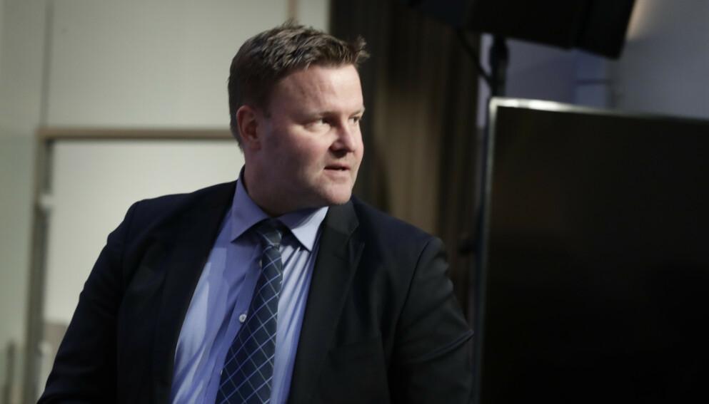 - AVGJØRENDE: Assisterende direktør i Helsedirektoratet, Espen Rostrup Nakstad, sier kommunenes arbeid med å slå ned utbrudd er avgjørende i kampen mot mutanten. Foto: Berit Roald / NTB