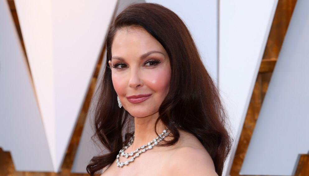 SKREKKULYKKE: Skuespiller Ashley Judd befinner seg for tida i Afrika. Der opplevde hun alles mareritt da hun falt og skadet seg kraftig. Foto: David Fisher / REX / NTB
