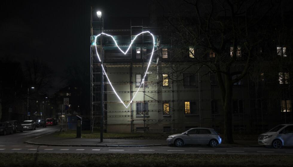 ET BYKS: Den siste uka har smitten på Sagene i Oslo vært økende. Det pågår også et stort utbrudd i hjemmetjenesten i bydelen. Foto: Jil Yngland / NTB