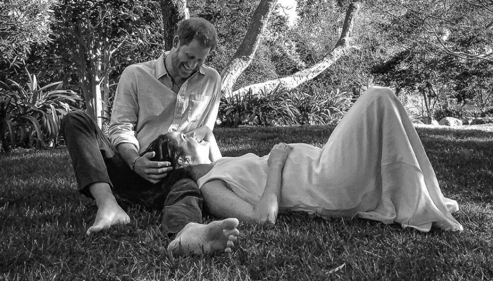 UHELDIG: Det autralske ukebladet New Idea hevdet at det var brudd mellom hertuginne Meghan og prins Harry, bare timer før paret slapp nyheten om at de venter sitt andre barn. Foto: Misan Harriman / Reuters / Handout / NTB