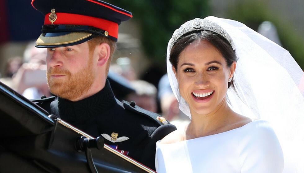 NYTT INTERVJU: Prins Harry og hertuginne Meghan har skapt en rekke overskrifter siden de giftet seg i 2018. Nå stiller de til sitt første intervju etter fjorårets nyhet. Foto: Gareth Fuller / POOL / AFP / NTB