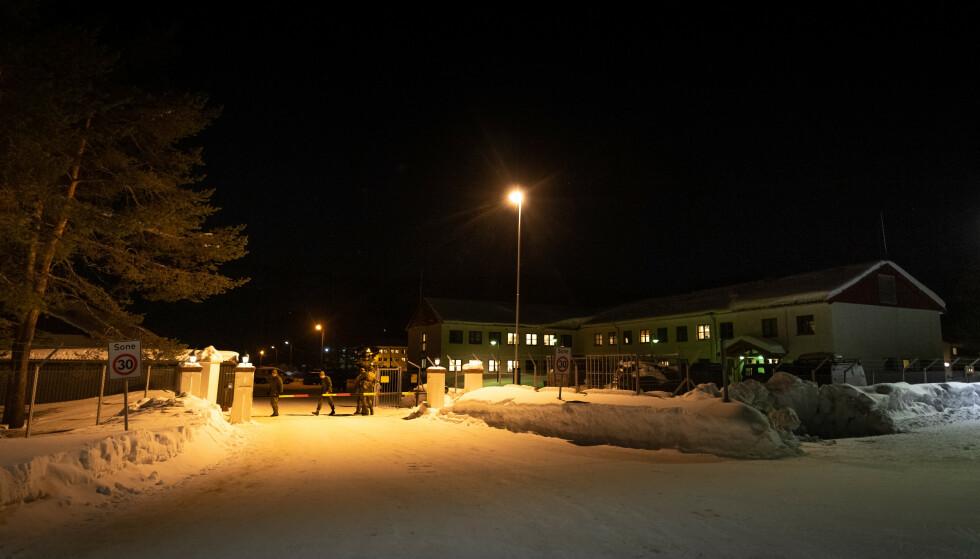 - INGEN FEST: Det norske Forsvaret avviser at det var noen fyllefest blant de nederlanske soldatene på Skjold leir kvelden før underoffiseren døde. Foto: Ole-Sverre Haugli / Forsvaret