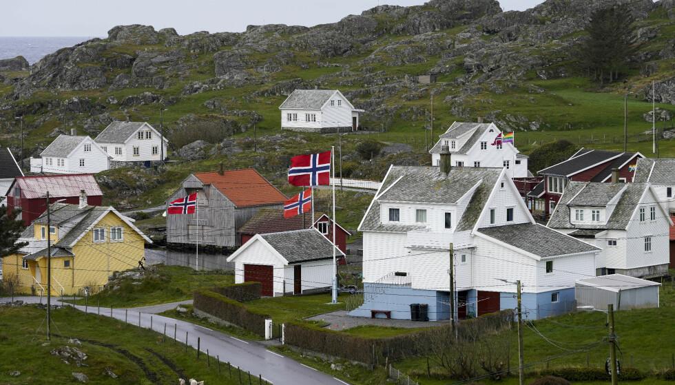 VAKSINERING: I Utsira kommune har hver femte innbygger mottatt første dose. Kommunen er Norge minste kommune målt i folketall med 192 innbyggere. Foto: Jan Kåre Ness / NTB