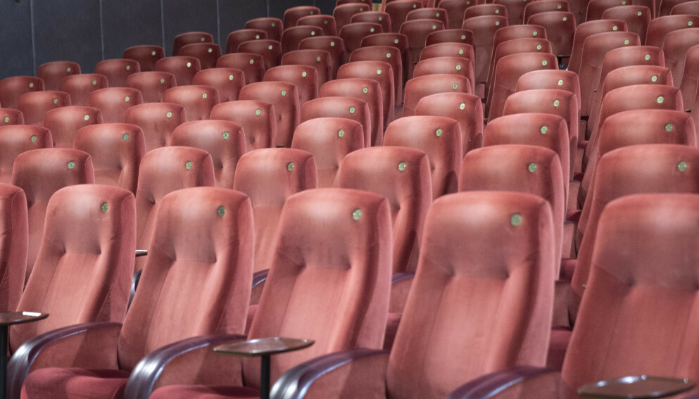 FIKK MEST: Landets kinoer har vært hardt rammet av både nasjonale og lokale smitteverntiltak. Storby-kinoer har blitt kompensert for hundrevis av millioner. Foto: Terje Bendiksby / NTB