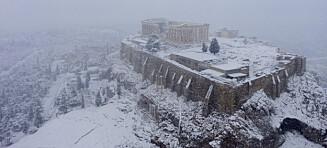 To døde under kuldebølge i Hellas