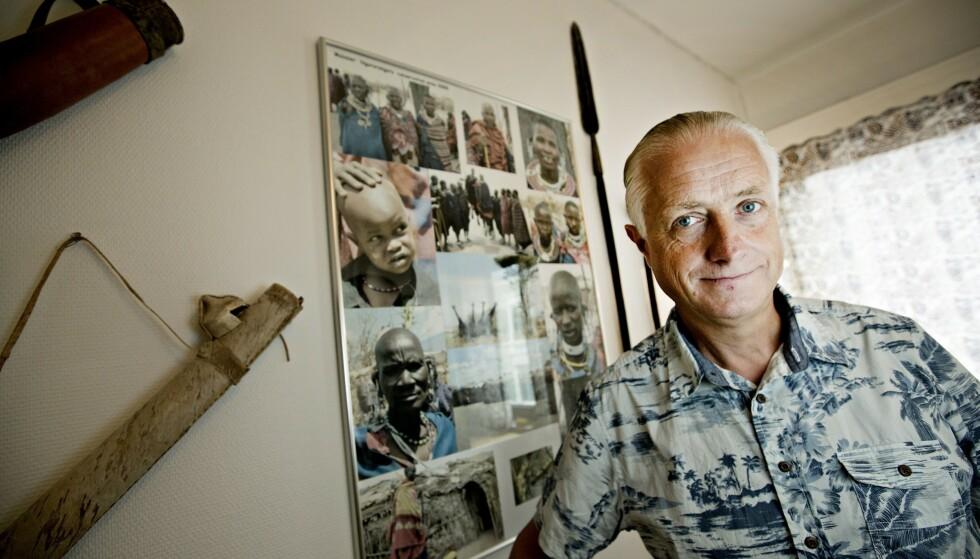FØLGER MED: Lege Gunnar Hasle, daglig leder på Reiseklinikken i Oslo, følger nøye med på mutanten. Foto: Anita Arntzen / Dagbladet