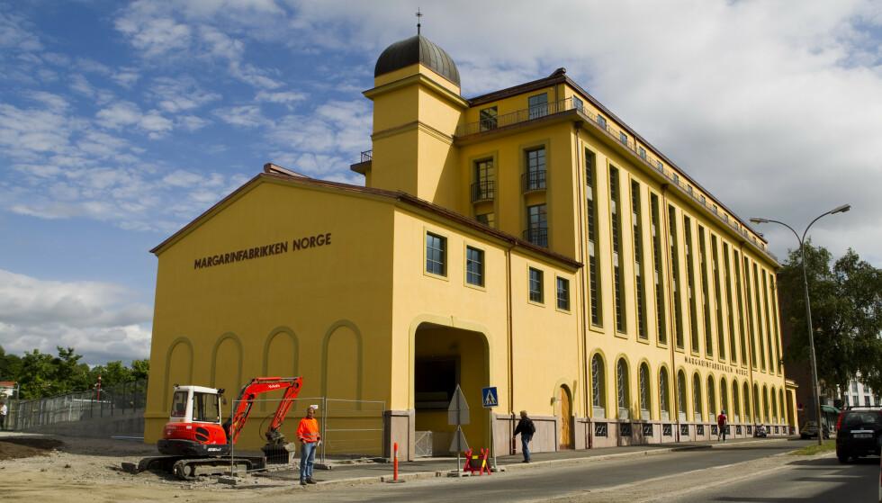 STENGES ETTER SMITTEUTBRUDD: Margarinfabrikken barnehage i Oslo har fått 11 smittetilfeller av covid-19, derav mistanke om at smitte kan stamme fra mutert virus. Foto: Berit Roald, NTB.