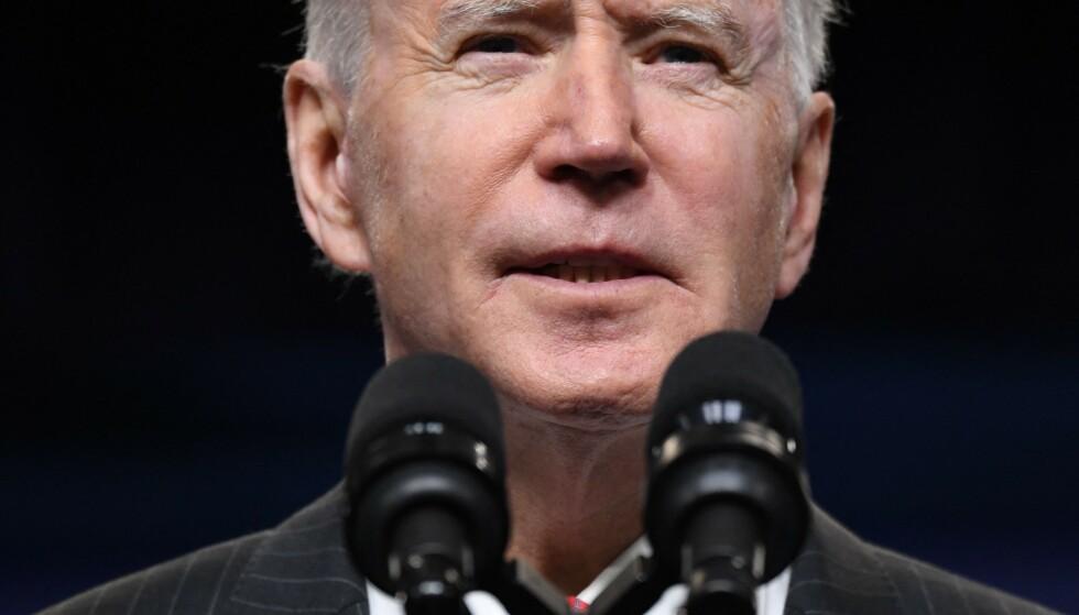 VIL BEDRE FORHOLDET: Joe Biden ønsker å bedre forholdet til Saudi-Arabia. Foto: SAUL LOEB / AFP