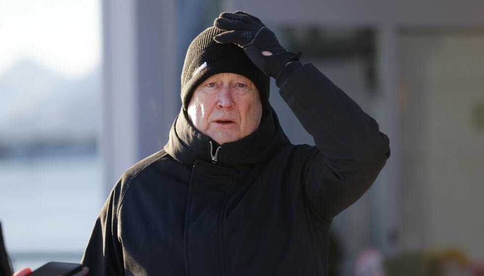 HØYE AMBISJONER: Åge Hareide vil ta Rosenborg tilbake til toppen av norsk fotball. Foto: Svein Ove Ekornesvåg / NTB