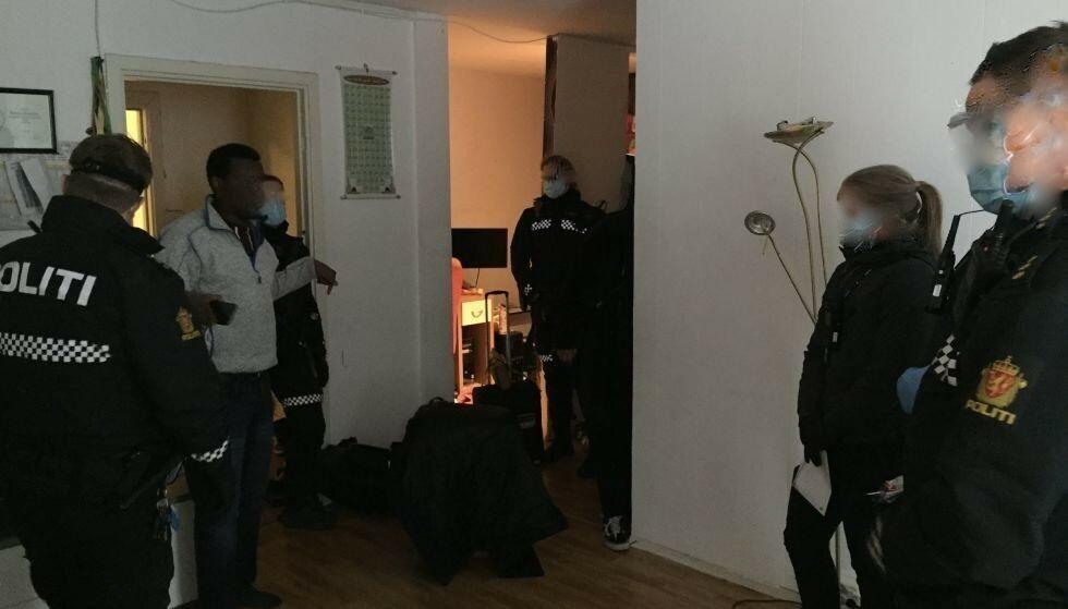 VEKKER REAKSJONER: Nylig ble familien Jama på sju kastet ut fra den kommunale leiligheten på Tøyen i Oslo. Foto: Bjarte Breiteig