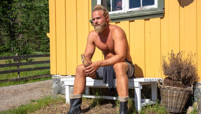 STOR FORSKJELL: Lasse Matberg gikk fra 124 til 107 kilo i løpet av tv-innspillingen. Foto: Alex Iversen / TV 2