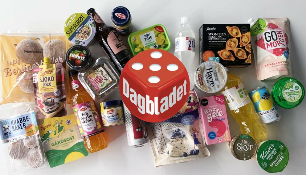 NYTT NÅ: Flere tusen nye matvarer er på vei til butikkene i disse dager. Vi har testet et lite utvalg.