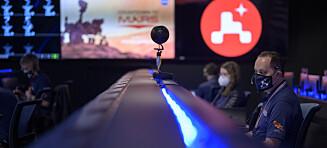 Mars-robot har landet