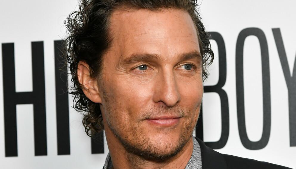 OVERBEVIST: Matthew McConaughey var helt sikker på at han skulle på bli stjernen i Titantic. Slik ble det som kjent ikke. Foto: Shutterstock.