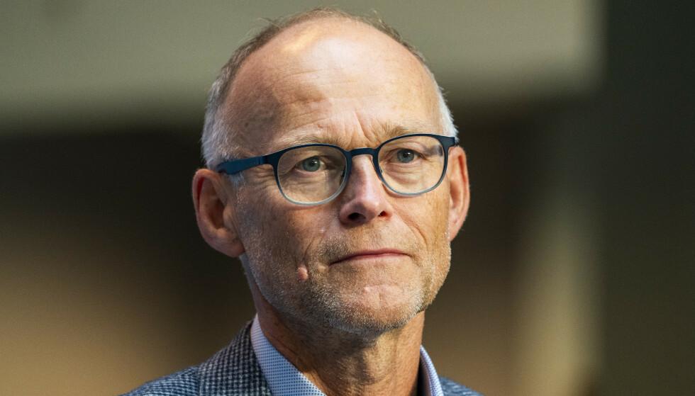 PÅ VAKT: Fagdirektør Frode Forland i Folkehelseinstituttet (FHI) følger med på virusvariantene. Foto: Håkon Mosvold Larsen / NTB