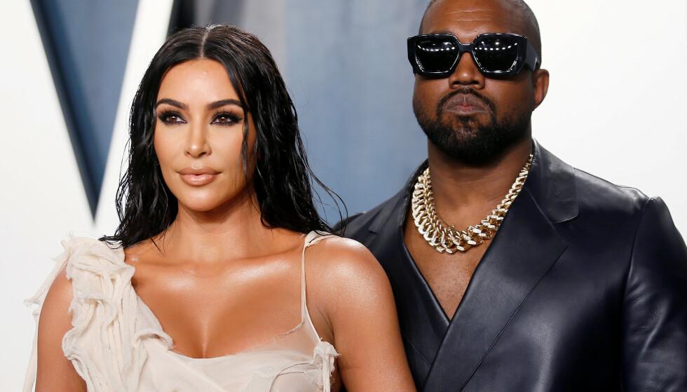 SKILLES: Reaksjonene fra fansen har ikke latt vente på seg, etter det ble kjent at Kim Kardashian og Kanye West skilles. Foto: Danny Moloshok/ REUTERS/ NTB