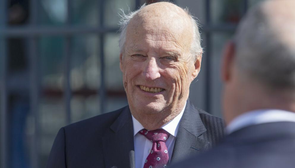 FYLLER ÅR: Kong Harald fyller 84 år i dag, 21. februar. Det er derimot ikke ventet noen stor feiring. Foto: Ryan Kelly / NTB