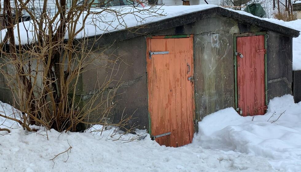 BUA: Her rett ved hjemmet hevder Viggo Kristiansen at han var da de to jentene ble voldtatt og drept 19. mai 2000. Foto: Øystein Andersen, Dagbladet.