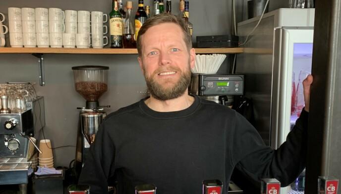 BROR: Trond Kristiansen er kokk, kjøkkensjef og restauranteier i Kristiansand. Foto: Øystein Andersen, Dagbladet.