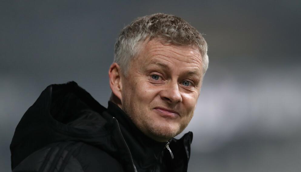 SEIER: Ole Gunnar Solskjær og hans Manchester United slo Newcastle 3-1 søndag kveld. Foto: Jonathan Moscrop/Sportimage