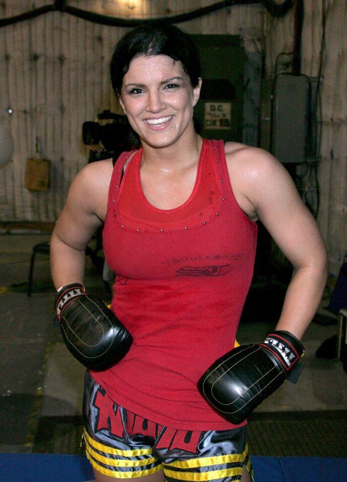 MMA: Gina Carano var MMA-stjerne før hun entret rampelyset som skuespiller. Foto: Evans Ward / REX / NTB