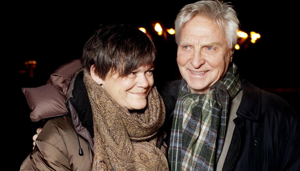 GÅTT HVER TIL SITT: Kristin Cecilie Slørdahl og musiker Arve Tellefsen har flyttet fra hverandre. Her avbildet i 2017. Foto: Agnete Brun / Dagbladet