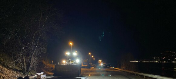«Ampre» bilister nesten truffet av isras