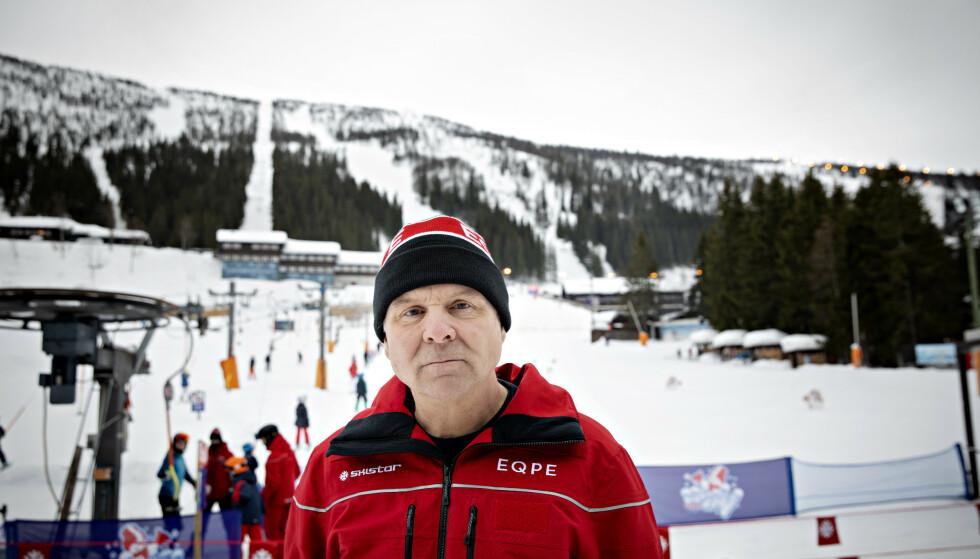 MANGE: Daglig leder ved Skistar Hemsedal forteller at det blir mange nordmenn i Hemsedal i vinterferien. Foto: Nina Hansen / Dagbladet