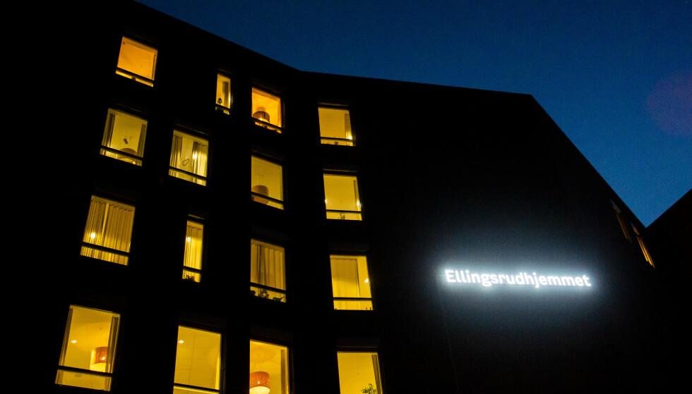 SMITTE: Etter uker uten smitte på Oslos sykehjem, ble en beboer på Ellingsrudhjemmet bekreftet smittet mandag. Foto: Fredrik Varfjell / NTB