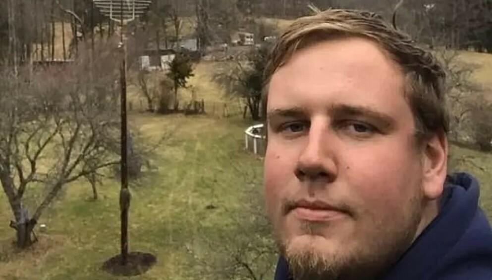 ULYKKE: Christopher Pekny (28) døde mens han monterte fyrverkeri. Foto: Privat