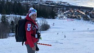 Mannen hennes fikk turen: Samira Sarkari måtte bli hjemme i Iran, mens resten av det iranske alpinlandslaget dro til verdensmesterskapet i Italia. Foto: Privat