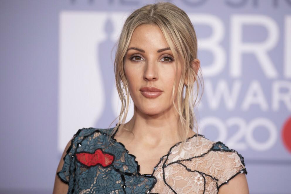 NYBAKT MOR: Popstjerna Ellie Goulding har fått sitt første barn sammen med ektemannen Caspar Jopling. Foto: Vianney Le Caer/ Invision / AP / NTB