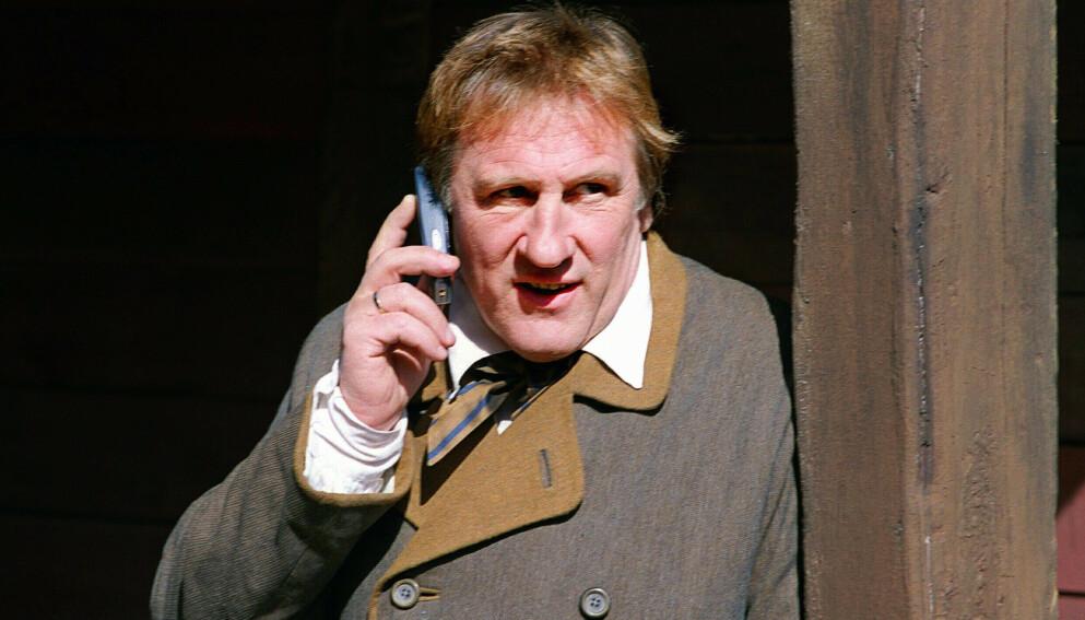 SIKTET: Den franske filmlegenden Gérard Depardieu er på nytt siktet i voldtektssaken mot ham. Foto: Ida von Hanno Bast / NTB
