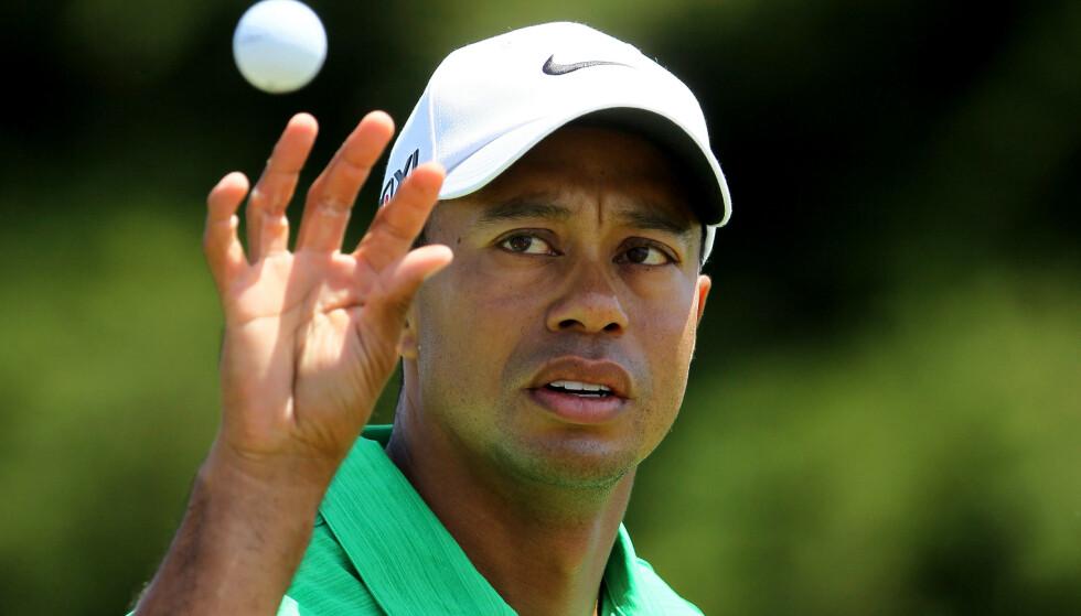 BILEN RULLET OVER: Golfstjerne Tiger Woods krasjet i nærheten av Los Angeles. Foto: GROSS / GETTY IMAGES NORTH AMERICA / AFP / NTB