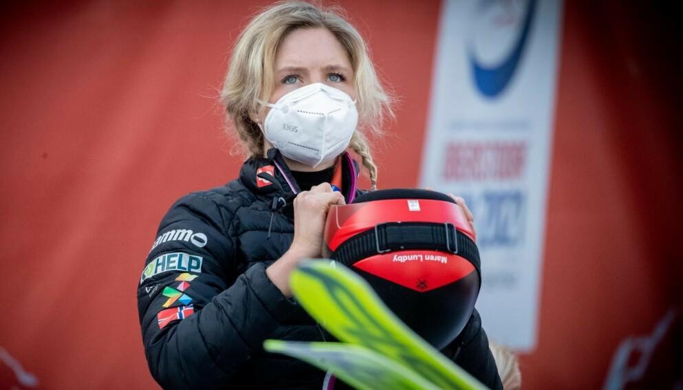 TØFT: Maren Lundby innkasserte 714 000 kroner i pengepremier i fjor. Hittil i sesongen har hun tjent 198 000 kroner. Foto: Bjørn Langsem