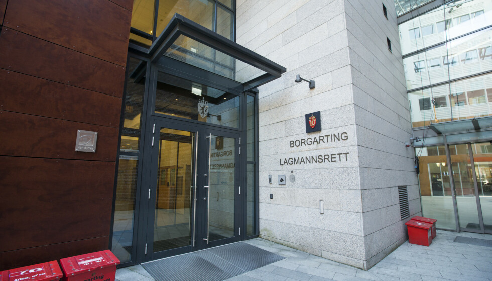 Oslo  20180711. Eksterir Borgarting lagmannsrett i Keysers gate 13. Foto: Trond Reidar Teigen / NTB