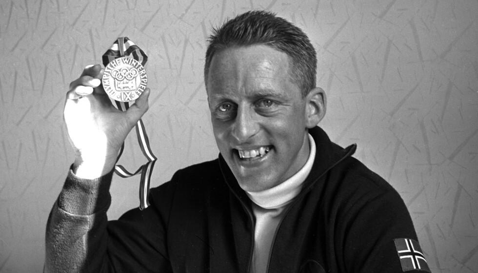 OL-HELT: Tormod Knutsen omtales av Romerikes Blad som en av Romerikes største idrettspersonligheter. Foto: Aktuell / NTB
